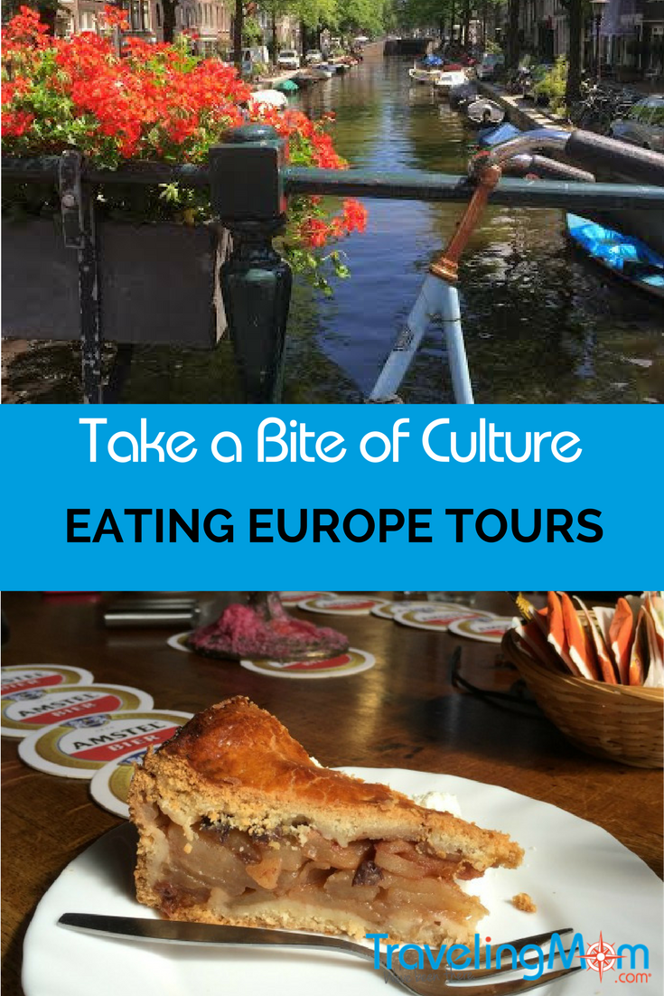 Explore Amsterdam on a food tour.