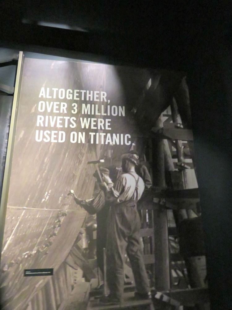 The Build Gallery at Titanic Belfast tells the story of her build which was a staggering feat for the time.
