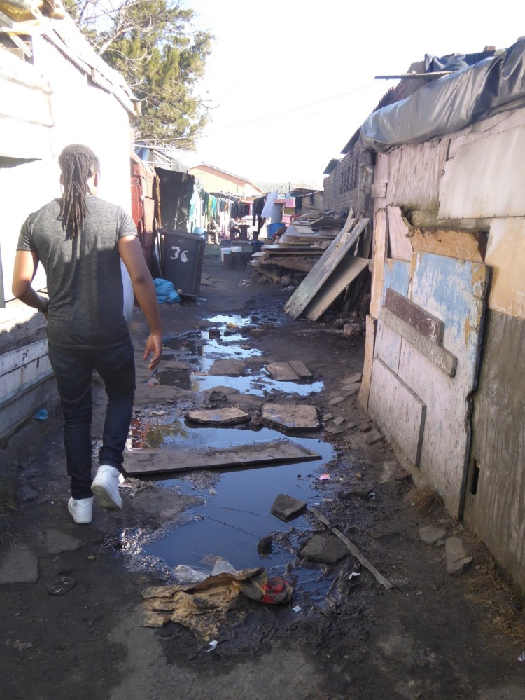 A tour of Langa Township in South Africa.