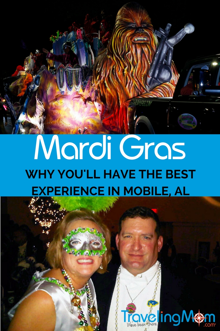 Mobile Alabama Mardi Gras is the original celebration. Find out why it's the best and whether or not it's safe for families to attend (hint: it is)!