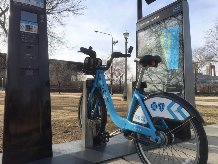 You can't drive all the time! Chicago has a great bike share system. Try it after Chicago Auto Show.