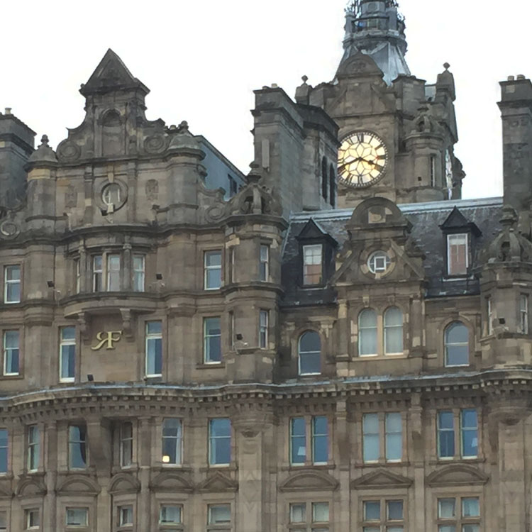 Step into The Balmoral Hotel and your Muggle will squeal. This luxury hotel is the perfect home base for exploring Harry Potter in Edinburgh.