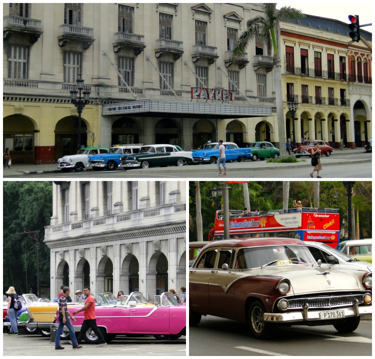The colorful, vintage cars even top the spectacular rum and cigars in Cuba