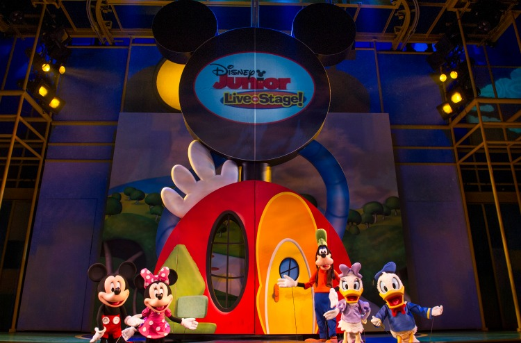 Preschoolers at Disneyland won't want to miss seeing their favorite Disney Junior characters live on stage!