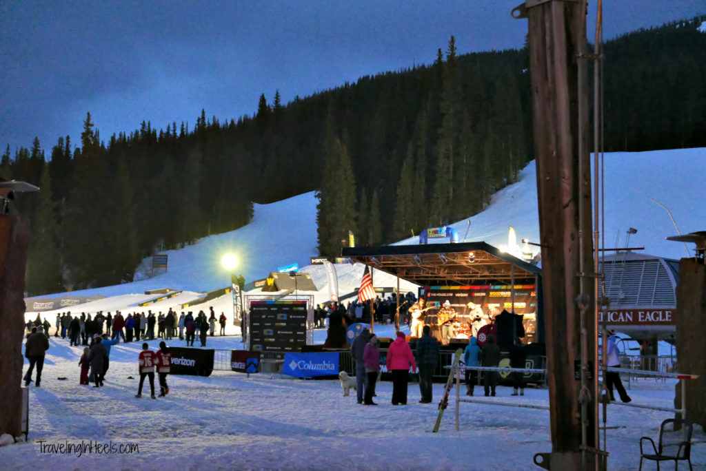 Nights are also kid friendly at Copper Mountain Ski Resort.