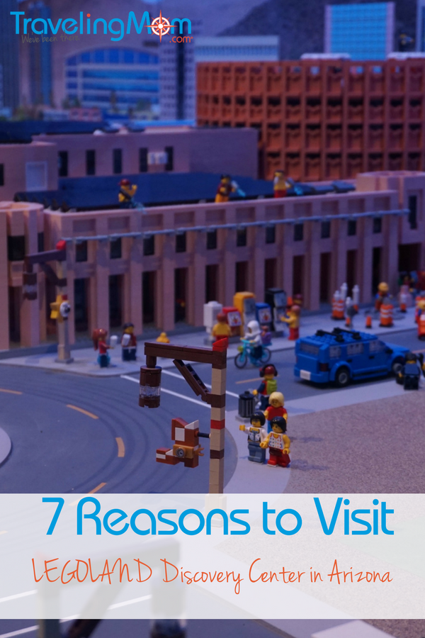 Looking for a family friendly attraction in Phoenix? There are 7 reasons to visit the LEGOLAND Discovery Center in Arizona.