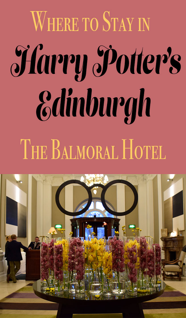 Step into the lobby of Edinburgh's Balmoral Hotel and your Harry Potter fan will squeal. This luxury hotel is the perfect home base for exploring Edinburgh.