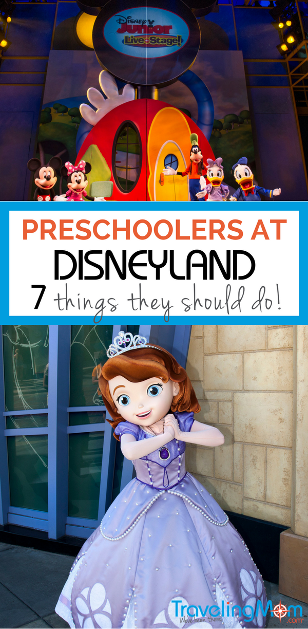 Don't miss these tips for preschoolers at Disneyland plus this list of what they need to do!