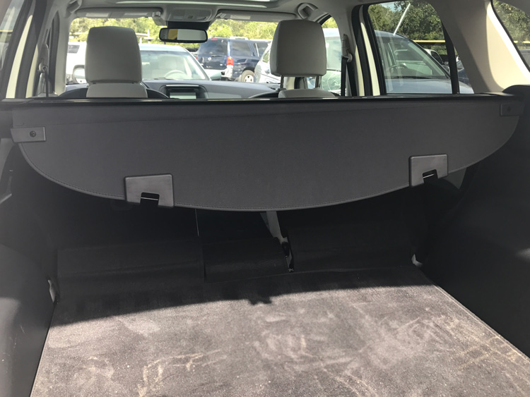 Ample trunk space is one reason to rent a car at Disney World.