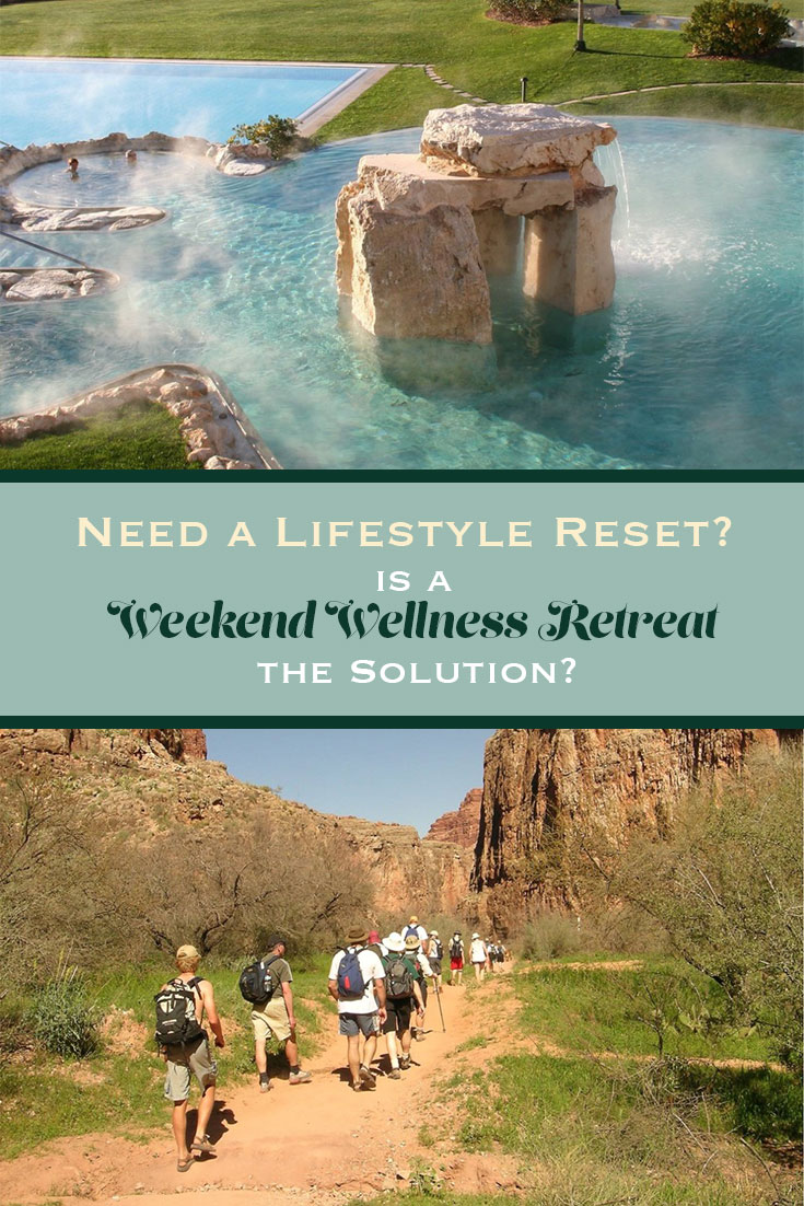 Want a lifestyle reset but can't set aside the time to figure it all out? A weekend wellness retreat might help you get off on the right foot.