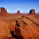 Monument Valley - how to visit. The first overlook is over the boulders.