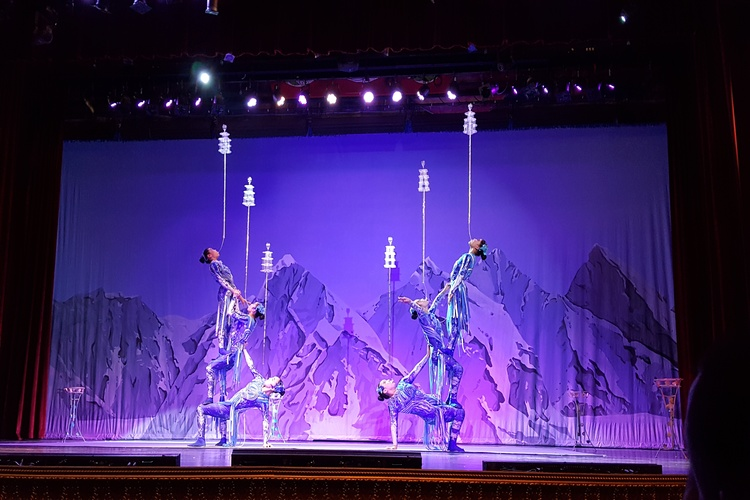 Acrobats of China show, fun activity for families in Branson