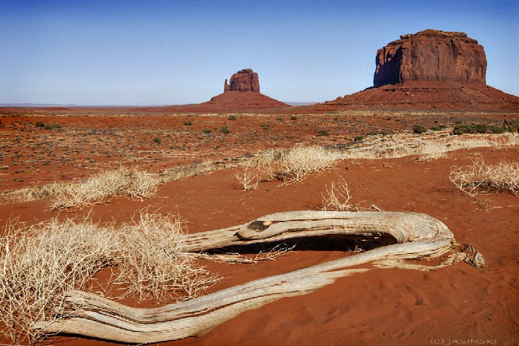 Monument Valley Navajo Tribal Park is a spiritual place