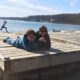 Pokagon State Park Toboggan Run and Lake James with its water activities