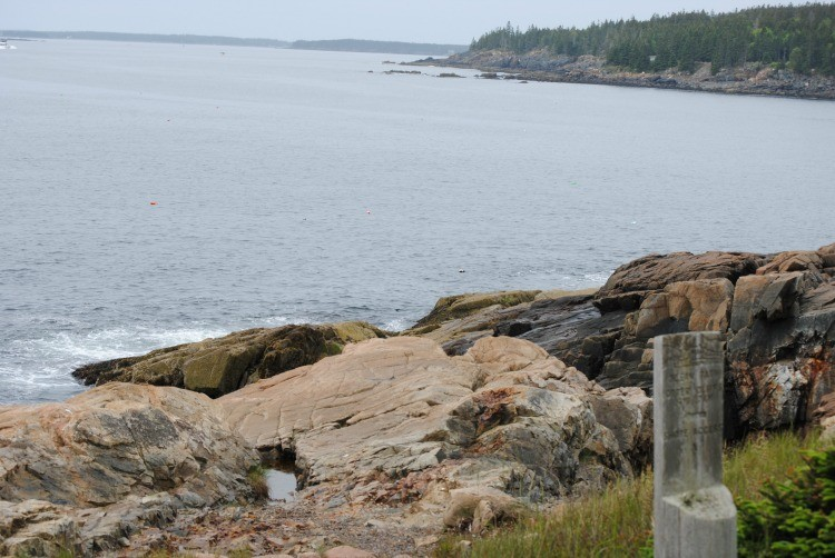 Walk along a lake is one tip for how to explore Acadia National Park with kids