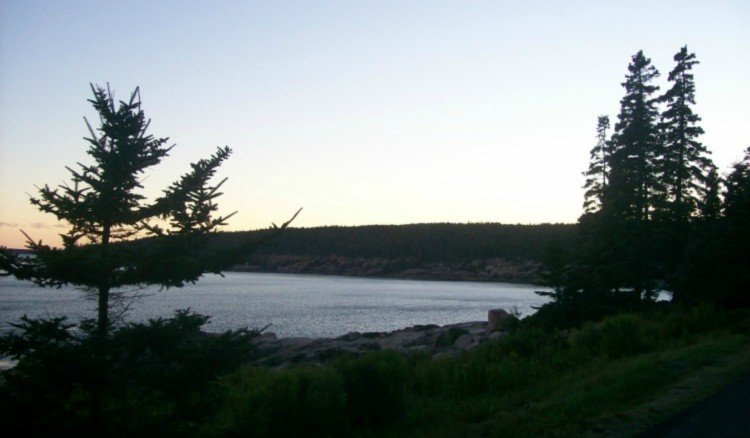 How to explore Acadia National Park with kids? Watch dusk fall.