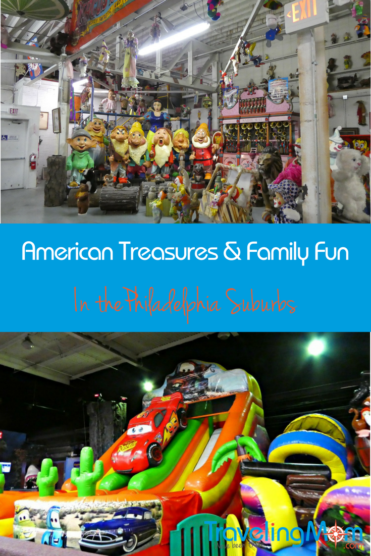 Looking for some family activities near Philadelphia? Head to the suburbs to discover American treasures, zombies and all kinds of fun and games.
