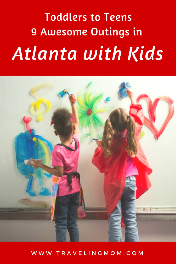 Toddlers to Teens: 9 Awesome Outings in Atlanta with Kids
