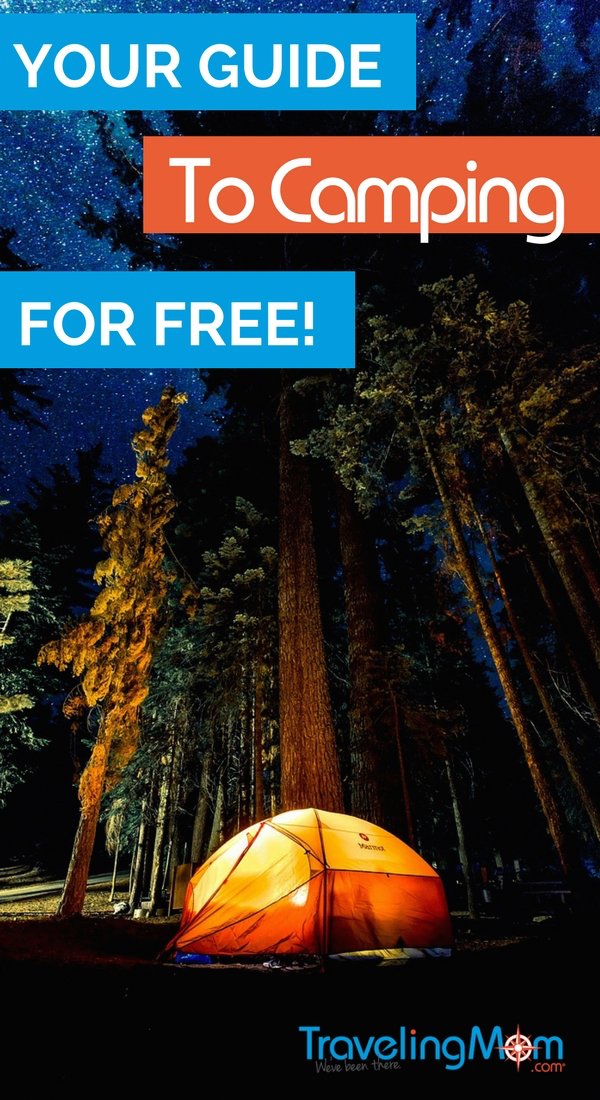 Need a free camping spot? I've got the ultimate free camping spot at locations from across the U.S.