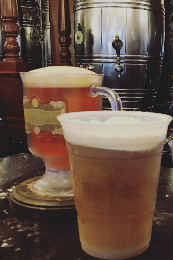You can't take the tour without a little taste of butterbeer