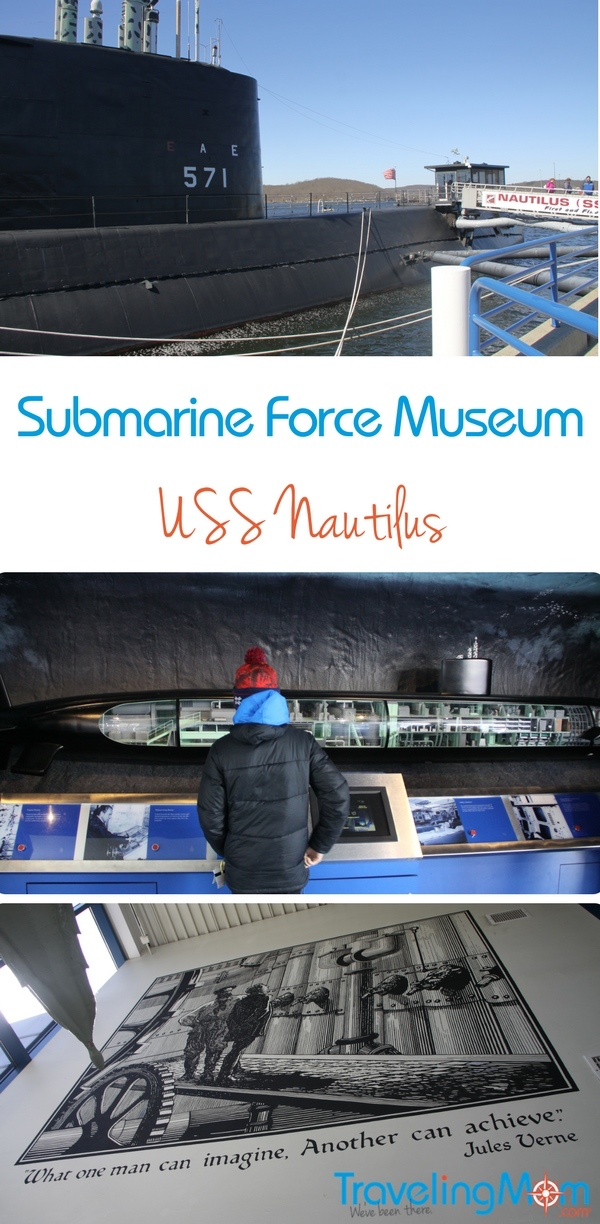 The Submarine Force Museum is a super CT day trip destination for families seeking entertainment and education.