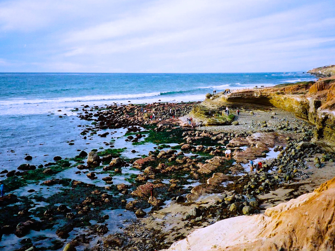 Cabrillo at Low Tide, a California National Park