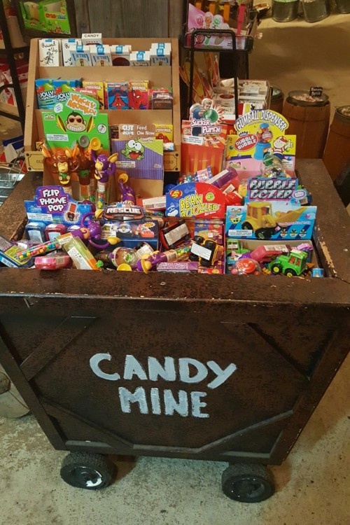 Fun, vintage candy in the Candy Cave, another kid friendly adventure in Julian California