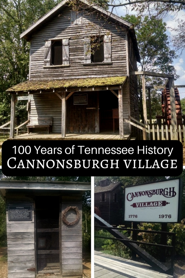 Step back in time and see 100 years of historic Tennessee life at Cannonsburgh Pioneer Village in Murfreesboro, TN.