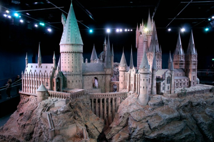 The grand finale of the tour is a beautiful replica of Hogwarts.