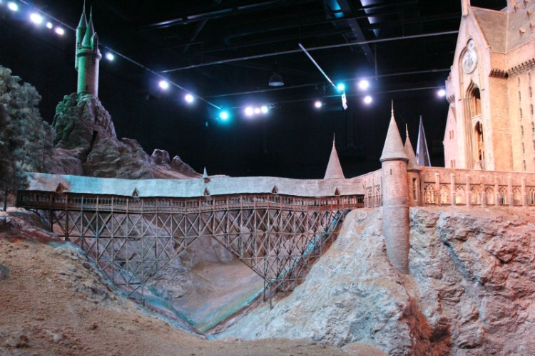 The Hogwarts replica is one of the best things about the Harry Potter Studios Tour in London