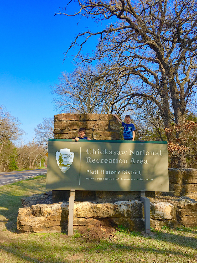 Explore Chickasaw National Recreation Area for families in Oklahoma.
