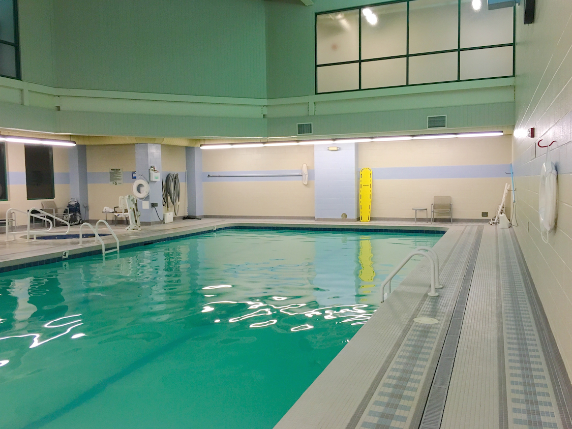 The indoor pool at the Chickasaw retreat and Conference Center.