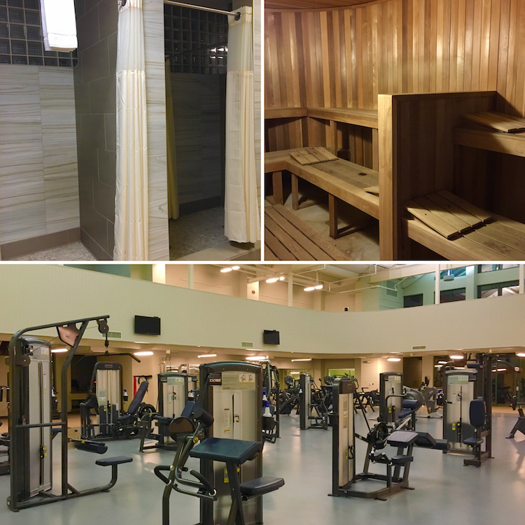 Use the wellness center at the Chickasaw Retreat and Conference Center.