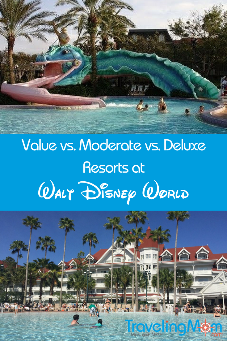 Disney Value vs. Moderate vs. Deluxe Resorts