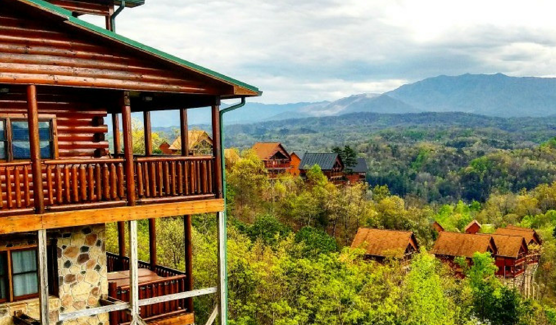 When looking for Southeast road trip destinations, the Dollywood Cabins have incredible views of the Great Smoky Mountains, but are minutes away from Dollywood.