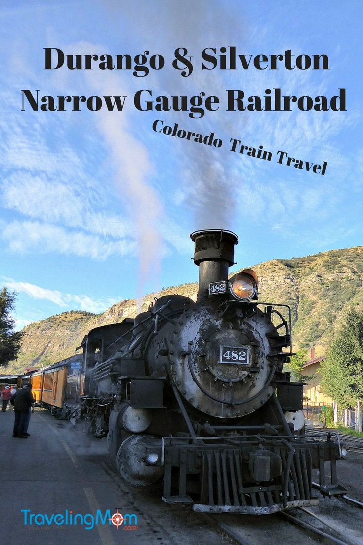 Colorado train travel, riding the rails of the Durango & Silverton Narrow Gauge Railroad