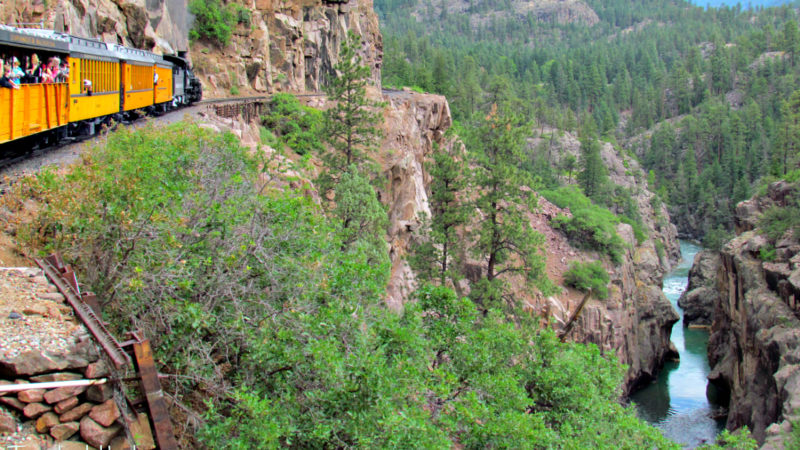 What better destination than Durango, Southwest Colorado's largest city, to experience Colorado train travel?