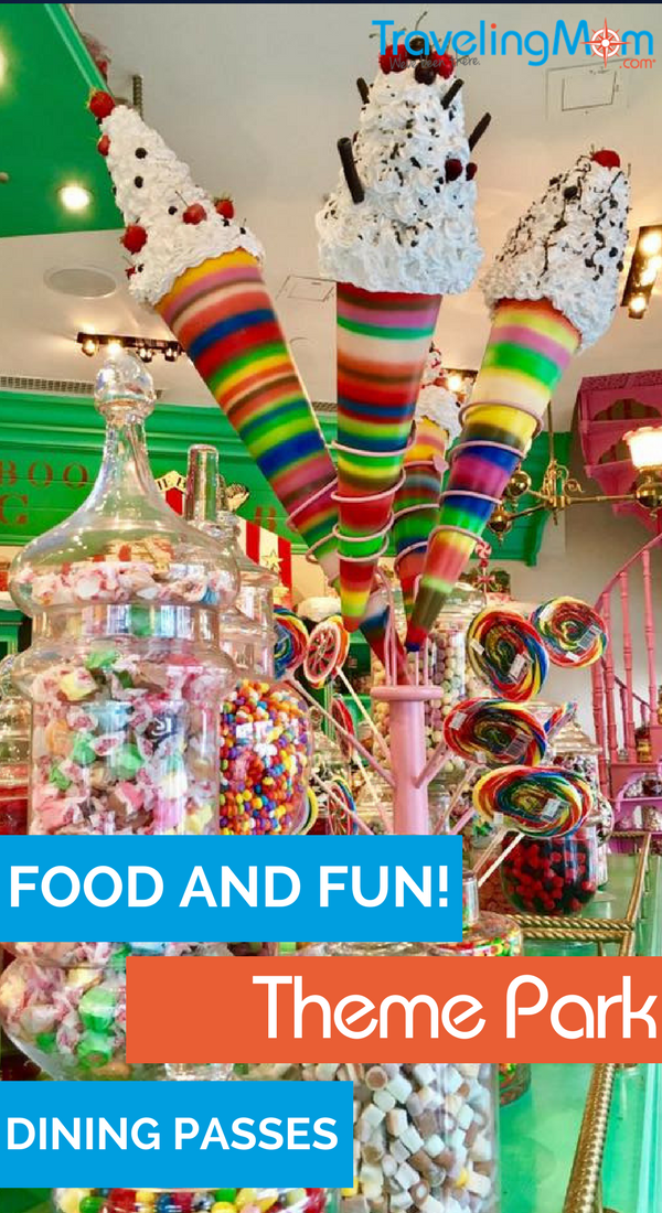 Have passes to your local theme park and want to save even more money? Theme park dining passes could be a great choice for you!