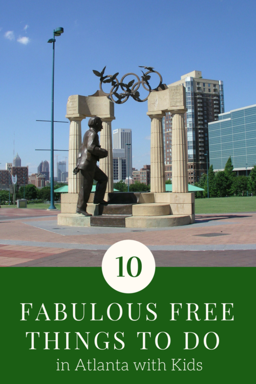 Exploring any city with kids can be expensive, but doesn't have to be. Here are ten free Things to do in Atlanta with Kids.