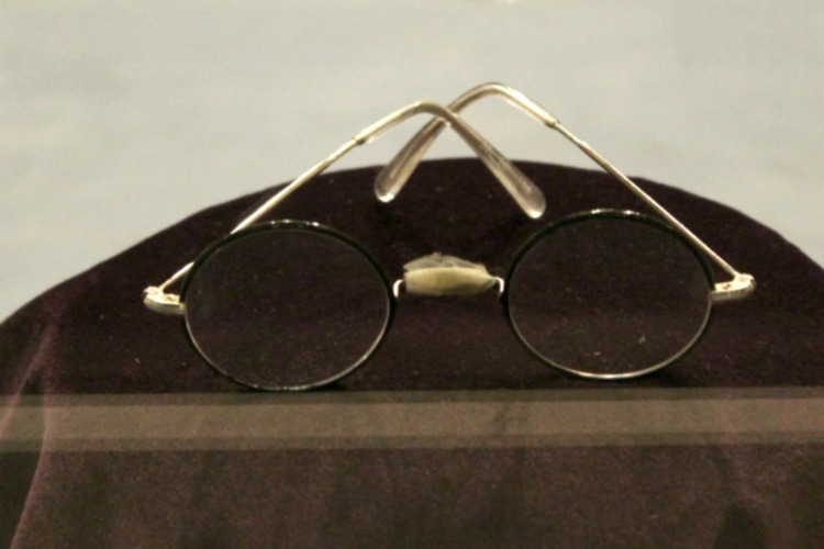 You'll see Harry Potter's glasses on the Harry Potter Studios Tour