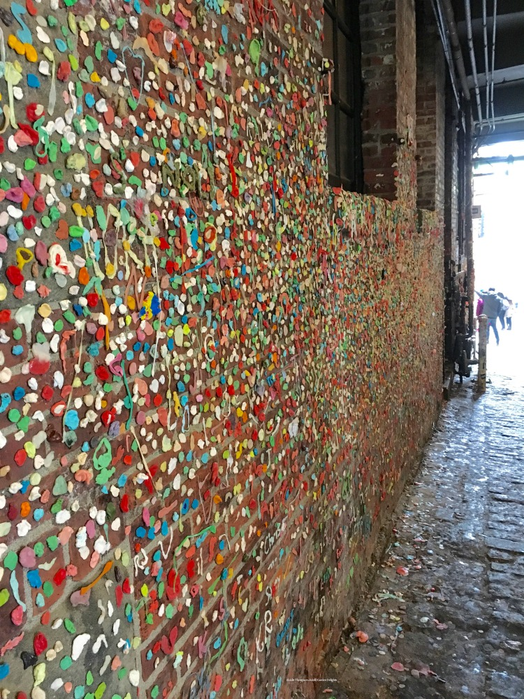 Things to Do in Seattle Gum Wall