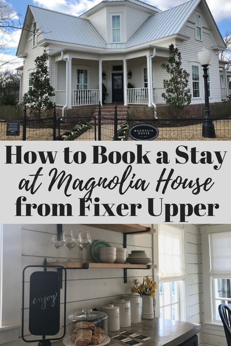 how to book magnolia house hgtv fixer upper travelingmom. Black Bedroom Furniture Sets. Home Design Ideas