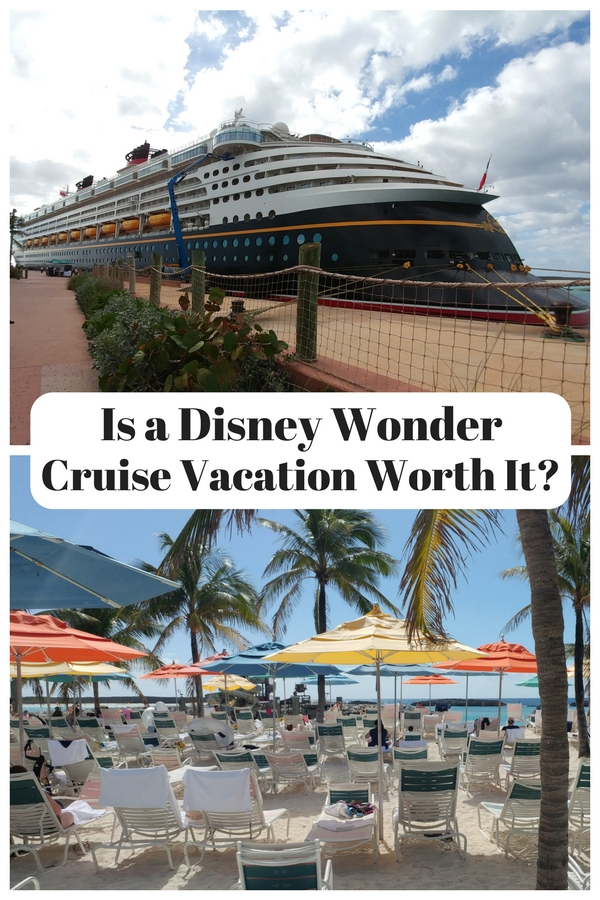 Is a Disney Wonder cruise vacation worth the price tag?