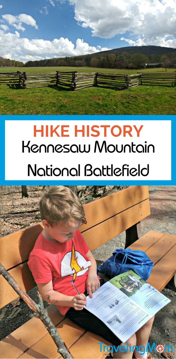 A trip to Kennesaw Mountain National Battlefield Park is an experience for body and mind!