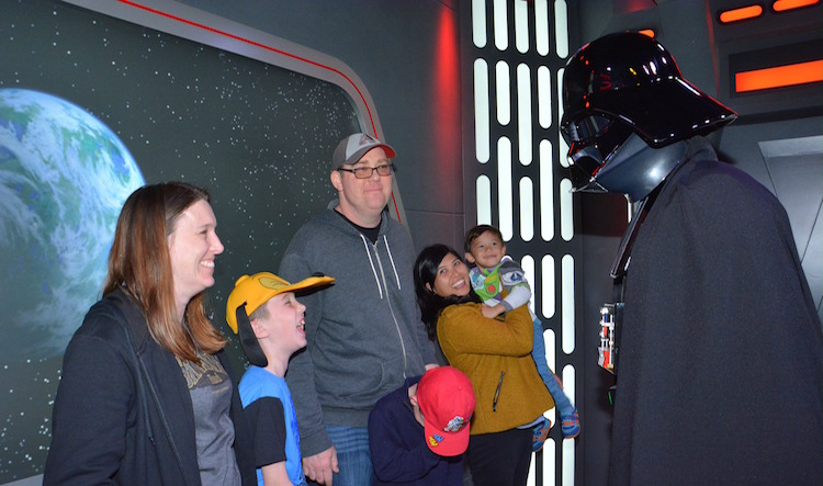 Disney Visa Star Wars Meet and Greet at Disneyland