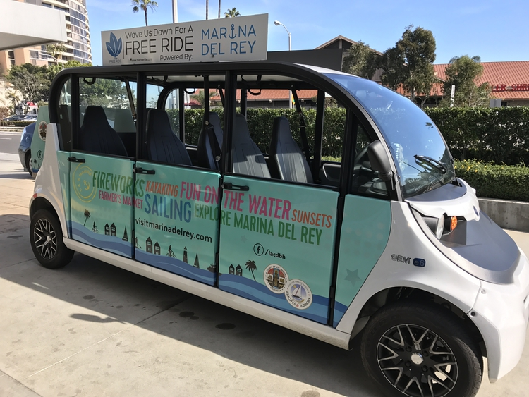 How to Make the Most of a 2-Day Los Angeles College Tour. Marina Del Rey shuttle saves you from driving!
