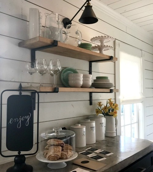 Book Magnolia House of HGTV Fixer Upper and enjoy the beautiful kitchen and treats from the Silos Baking Co.
