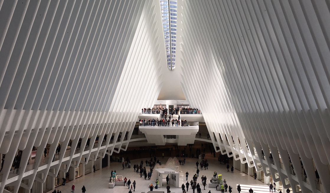 World Trade Center Oculus -- is it a transportation hub or a work of art?