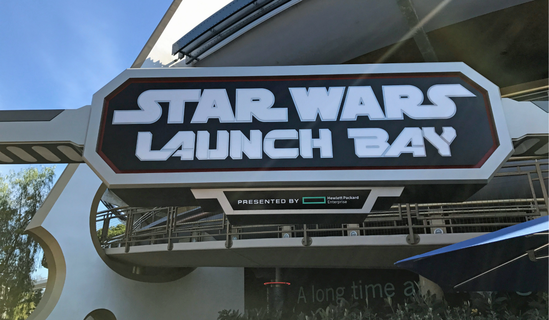 Star Wars at Disneyland - Visit the Launch Bay!
