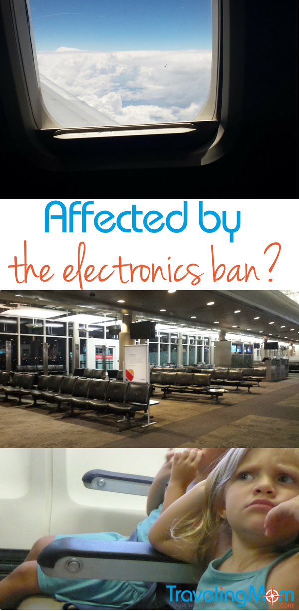 The electronics ban applies to flights on 8 airlines from 10 different airports. Will it affect you?